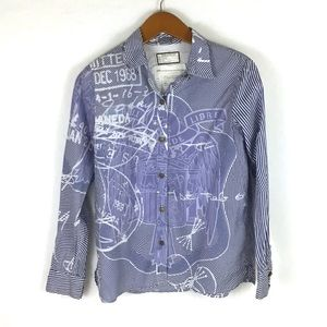 Current/Elliott Mary Katrantzou The Keys Shirt
